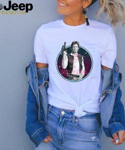 Star Wars Han Solo Not A Scoundrel Classic Pose T shirt