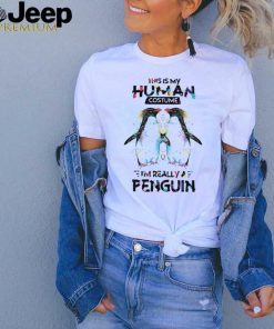 This is my human costume im really a penguin shirt